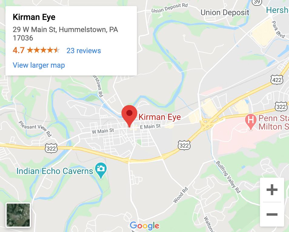 Eye Doctor Hummelstown PA